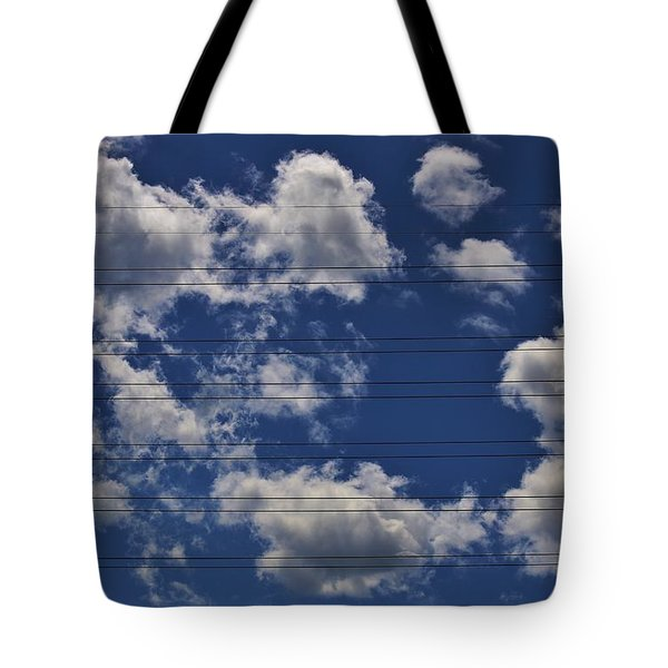 Tote Bag featuring the photograph Music - Fill In The Notes by Craig Wood