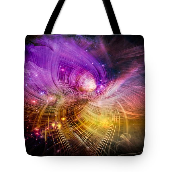 Music From Heaven Tote Bag by Carolyn Marshall
