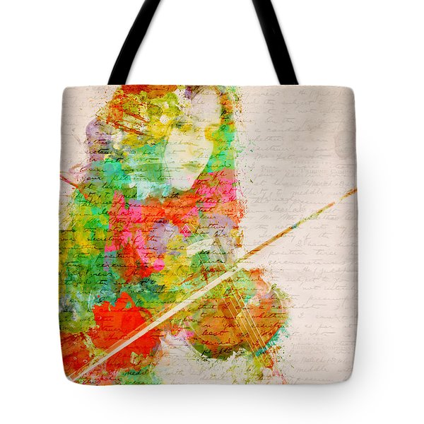 Music In My Soul Tote Bag