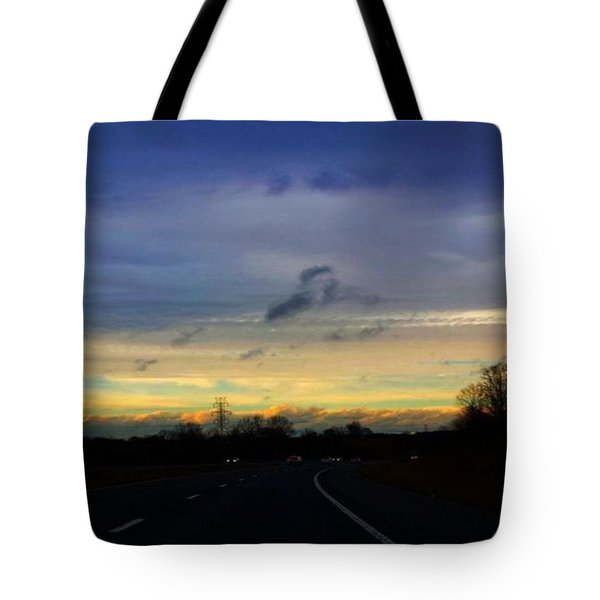 Music In The Sky Tote Bag