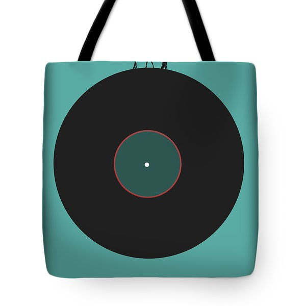 Music Is An Outburst Of The Soul Poster Tote Bag by Naxart Studio