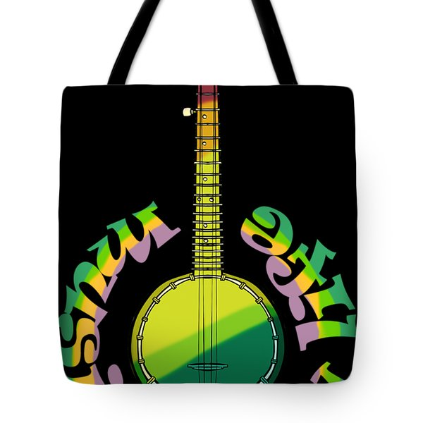 Music Is My Life Tote Bag