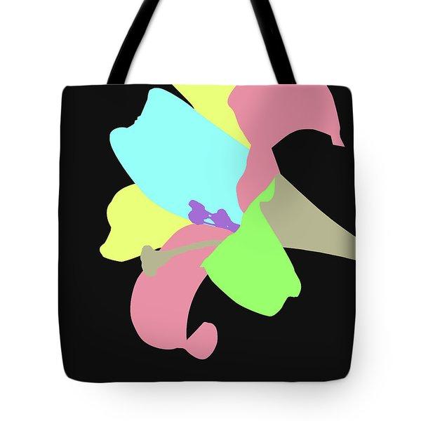 Tote Bag featuring the digital art Music Notes 13 by David Bridburg