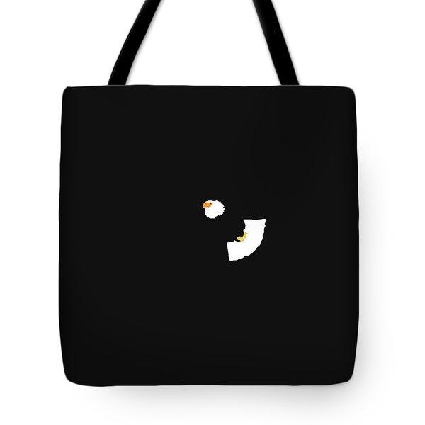 Tote Bag featuring the digital art Music Notes 18 by David Bridburg