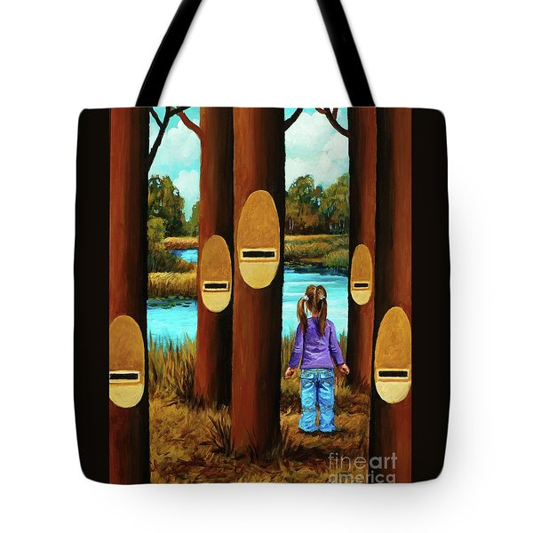 Music Of Forest Tote Bag