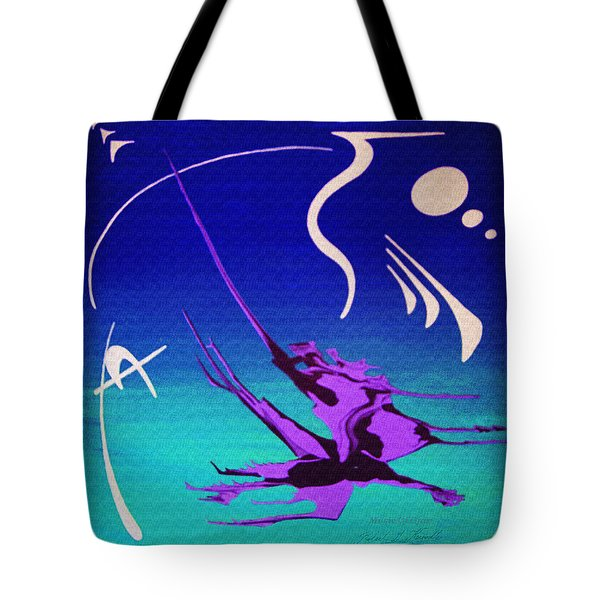 Music Of Ojas Tote Bag by Robert G Kernodle