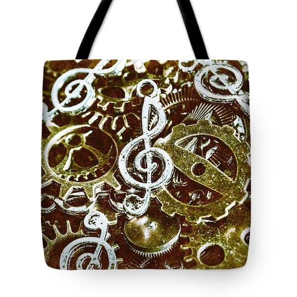 Music Production Tote Bag