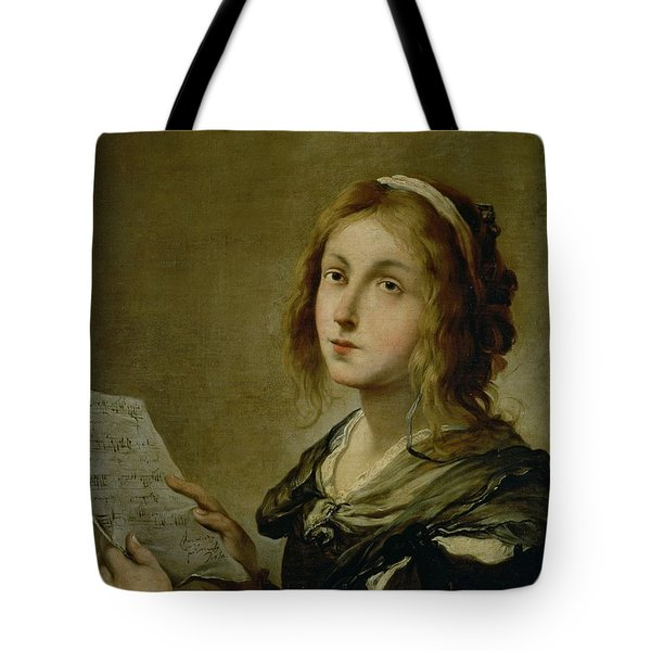 Music Tote Bag by Salvator Rosa