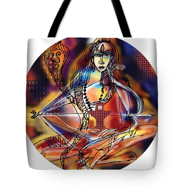 Music Shiva Tote Bag