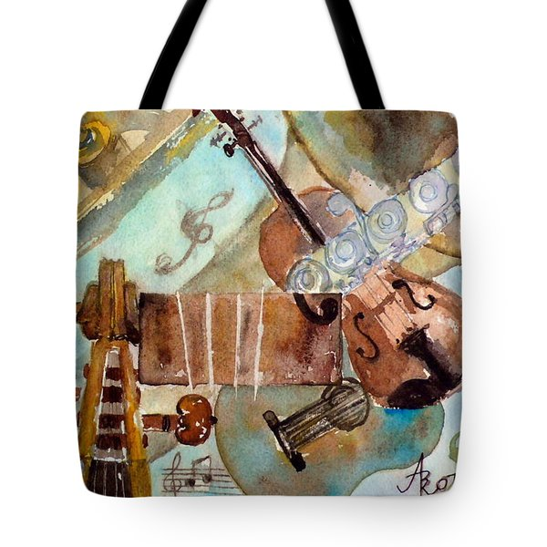 Music Shop Tote Bag