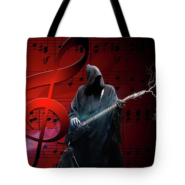 Music To Die For Tote Bag