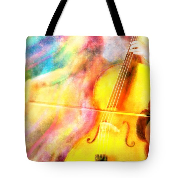 Music To My Eyes Tote Bag by Jennifer Allison