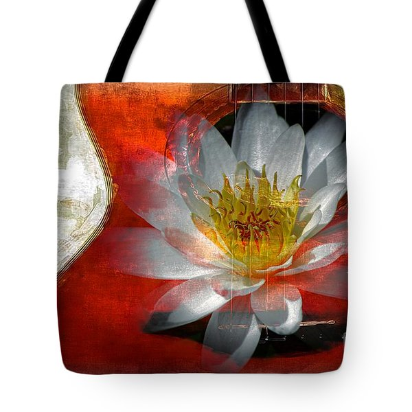 Musical Beauty Tote Bag