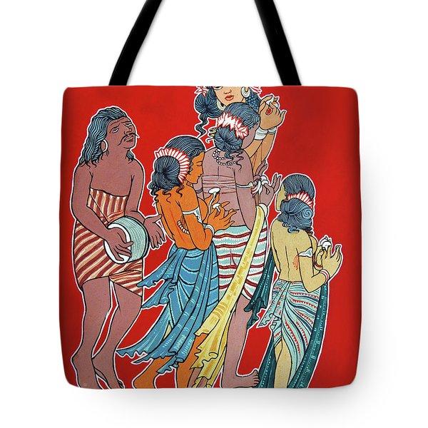 Musical Concert Tote Bag