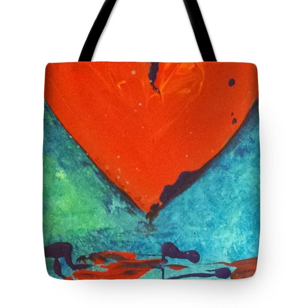 Musical Heart Tote Bag by Diana Bursztein