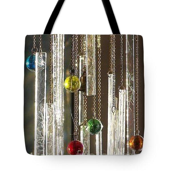 Musical Marbles Tote Bag
