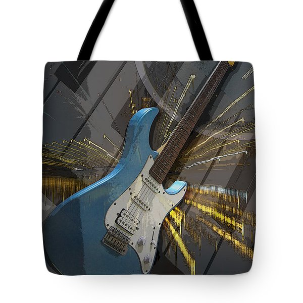 Musical Poster Tote Bag by Brian Roscorla