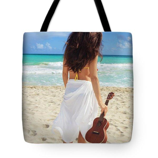 Musicians Paradise Tote Bag by Tomas Del Amo - Printscapes