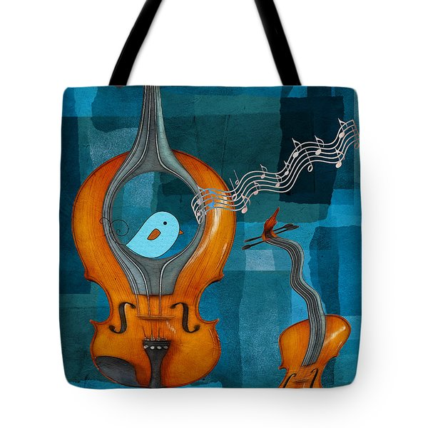 Musiko Tote Bag by Aimelle