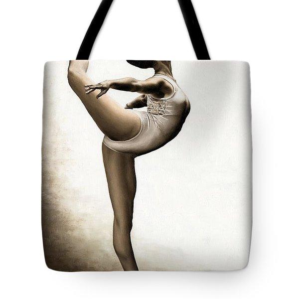 Musing Dancer Tote Bag