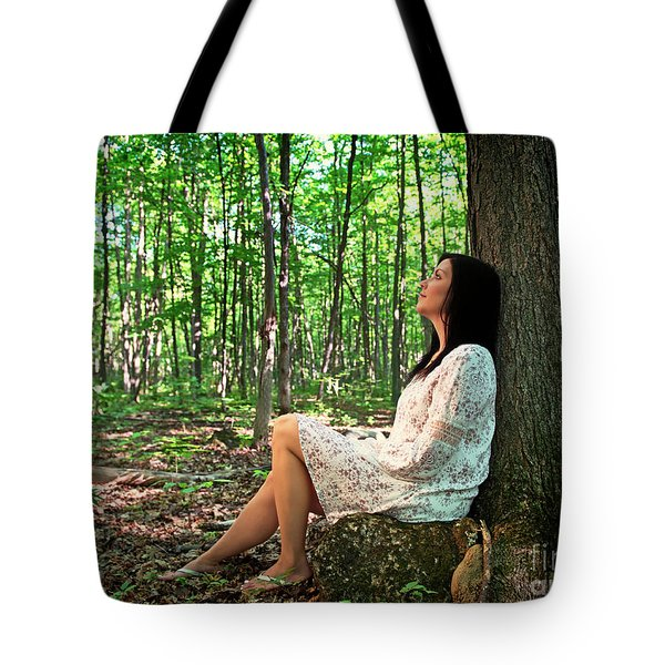 Tote Bag featuring the photograph Musing.. by Nina Stavlund
