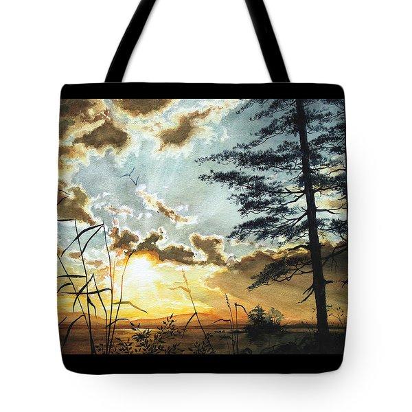 Muskoka Dawn Tote Bag by Hanne Lore Koehler