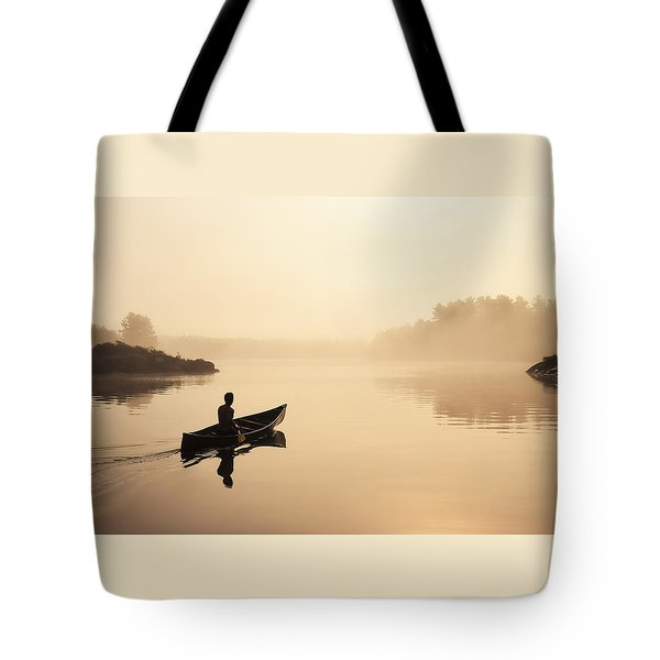 Muskoka Morning Tote Bag