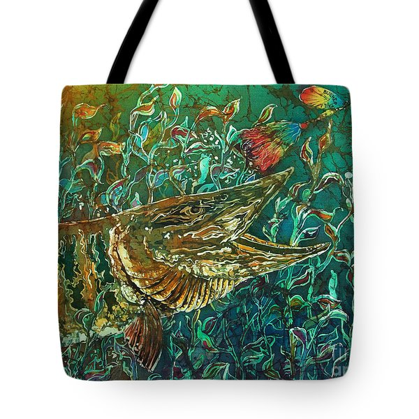 Musky- Chasin Tote Bag