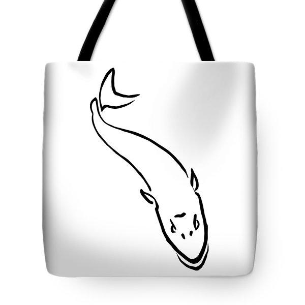 Musky Lurking Below Tote Bag