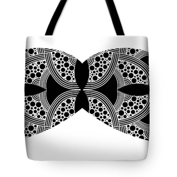 Mustache Tee Tote Bag