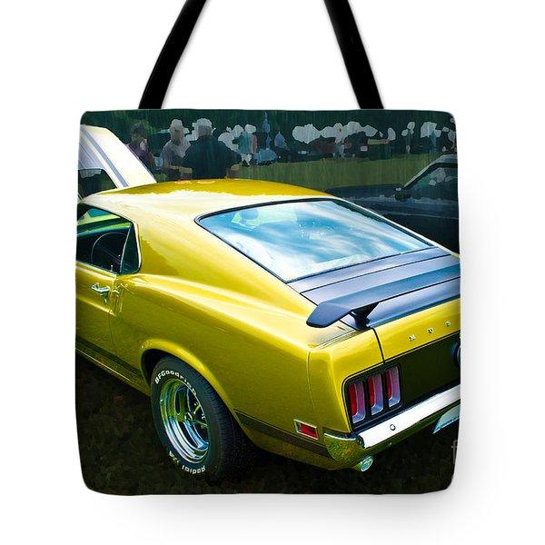 Mustang Boss 302 Tote Bag