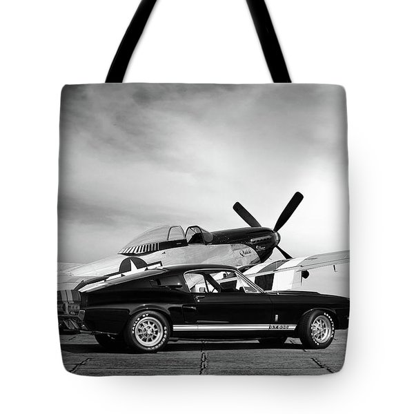 Mustang Legends Tote Bag