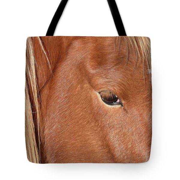 Mustang Macro Tote Bag