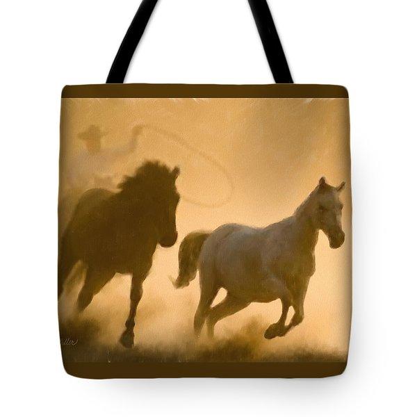 Mustang Roundup Tote Bag