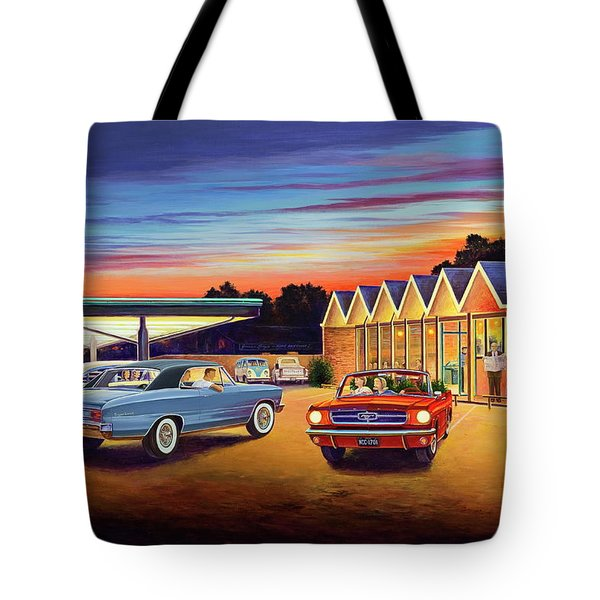 Mustang Sally - Shelton's Diner 2 Tote Bag