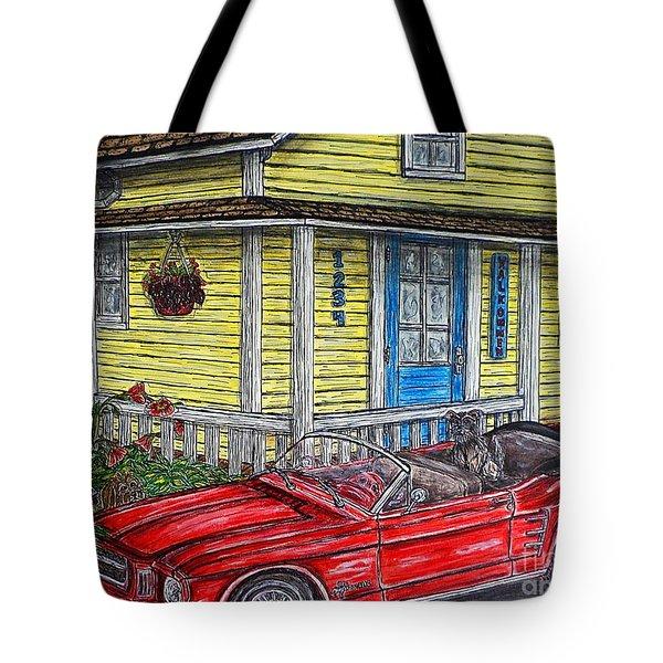 Mustang Sallys' Place Tote Bag