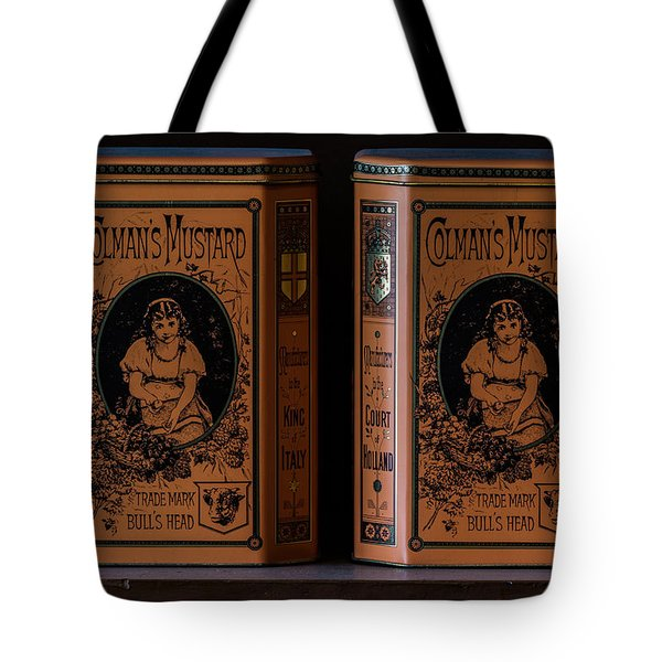 Mustard Tote Bag
