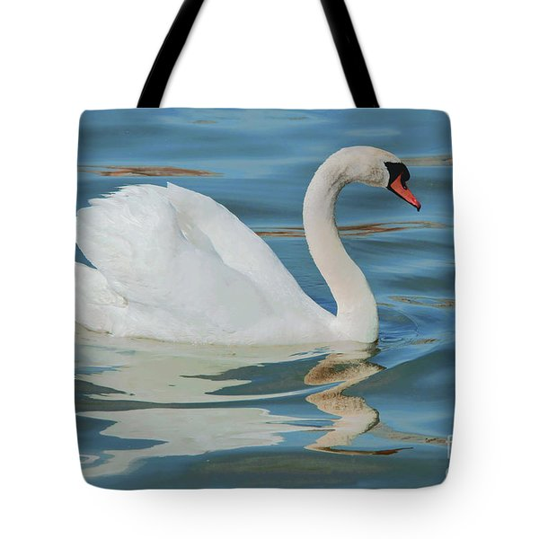 Mute Swan Beauty Tote Bag