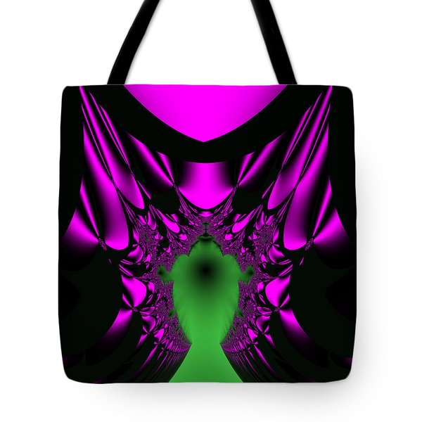 Tote Bag featuring the digital art Mutenscran by Andrew Kotlinski