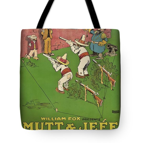 Mutt And Jeff 1919 Tote Bag