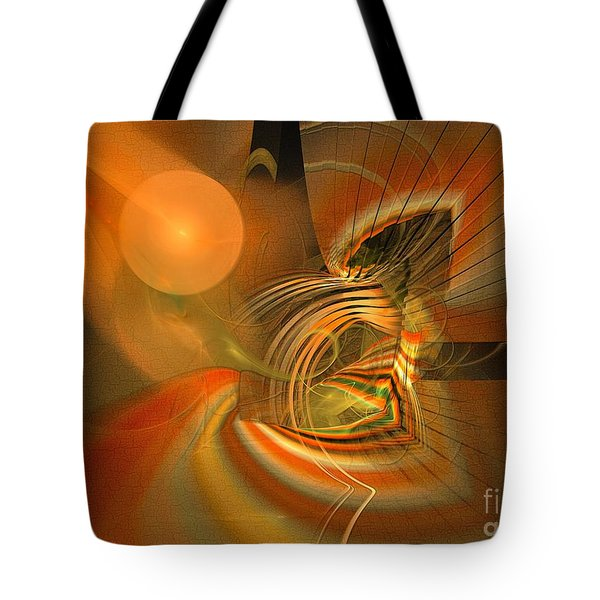 Mutual Respect - Abstract Art Tote Bag