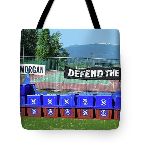 Tote Bag featuring the photograph Mv Queen Of Carbon  by Bill Thomson