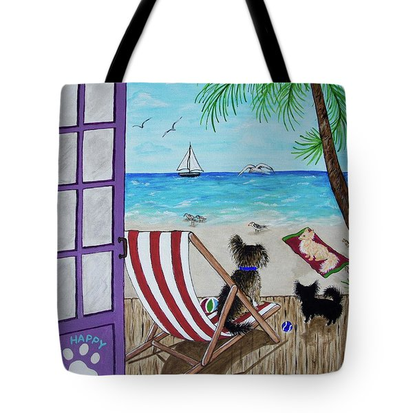 My 3 And The Sea Tote Bag