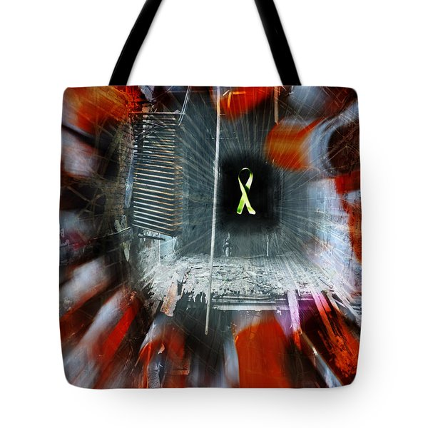My Affliction Tote Bag by Luke Moore