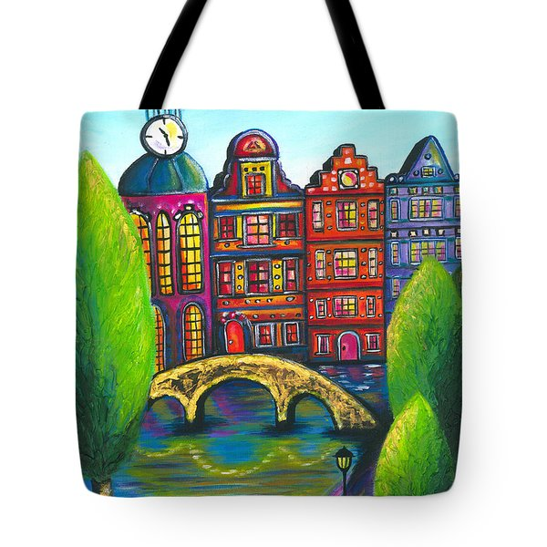 My Amsterdam Tote Bag by Beryllium Canvas