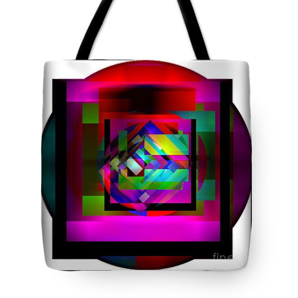 Tote Bag featuring the digital art My Art Abbey by Gayle Price Thomas