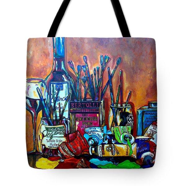 My Art Studio Tote Bag