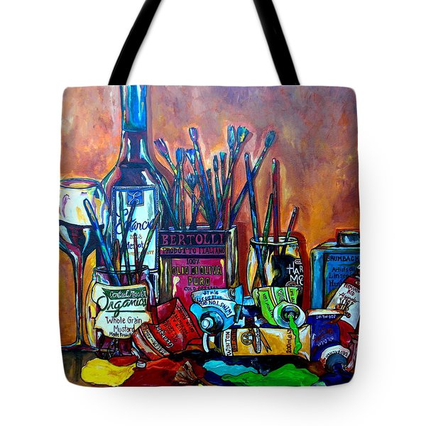 My Art Studio Tote Bag