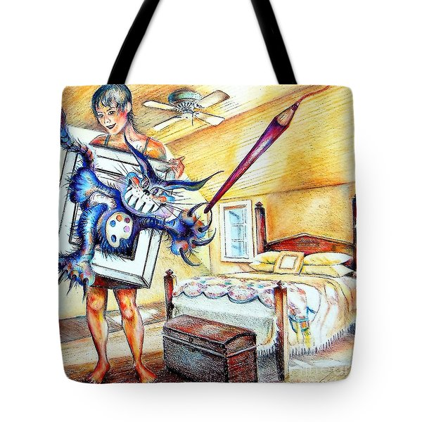 My Art Thing Tote Bag