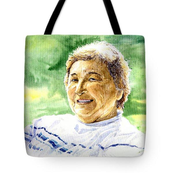 My Aunt Rose Tote Bag by Yuriy  Shevchuk
